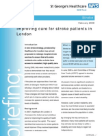 Stroke Briefing Document
