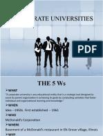Corporate University