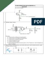 Folheto de Exercícios de Eletrónica i