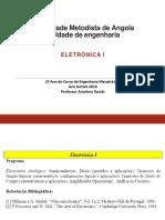Eletrónica 1 Ppt Novo