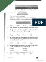 NSTSE Class 5 Paper 2009