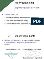 15-17 Dynamic Programming  - Algorithms (series lecture)