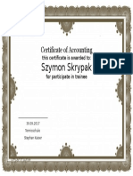 Certificate Templates for Word6