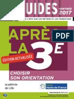 Apres La 3e Rentree 2017 Nord Pas de Calais