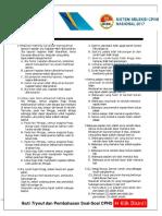 Kumpulan Soal-soal Seleksi CPNS dan Pembahasannya