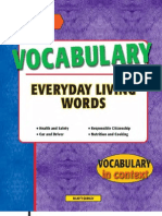 Vocabulary Everyday Living Words