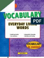 Vocabulary Everyday Living Words
