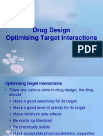 11 - Drug Design - Optimizing Target Interactions.ppt