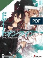 Sword Art Online Vol 01