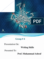 Writing Skills Presentation