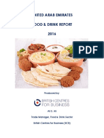 UAE Food and Drink Sector Report by the BCB February 2016 Sample