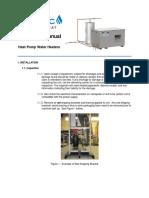HPWH Installation Manual