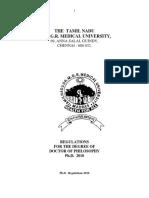 Phd Regulation 2010 v 3
