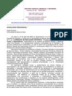 Zurutuza-Un Balance Provisional I Jornadas de Reflexion Historica 2004 2005