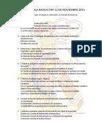Examen Escala Básica 2011 (Falta Preguntas)