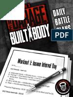 GBB Battle Plans