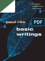 Rée, Paul; Small, Robin; Rée, Paul; Nietzsche, Friedrich Wilhelm Basic Writings