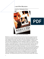 Memento Structure Film Review
