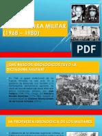La Dictadura Militar (1968 – 1980)