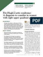 Fitz Hugh Curtis Syndrome