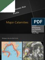 CALAMITIES IN PHILIPPINES
