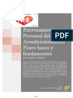 Proyecto Final de Mercadeo Personal Trainer