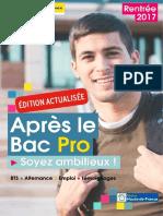 Apres Le Bac Pro Rentree 2017 NPdC
