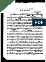 Hartmann Webers Last Waltz Cl Pno