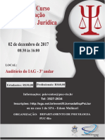 II Jornada do Curso de Especialização em Psicologia Jurídica da PUC-Rio