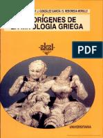Los Orígenes de Mitología Griega