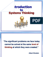 Lecture Systems Thinking