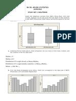 EM 521 Study Set 1 Solutions