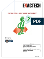 Anti Fraud White Paper