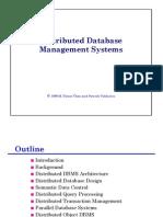 Distirbuted DataBase Begin