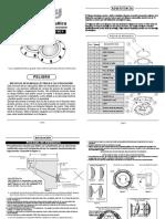 Led Installation Manual Cl Spanish