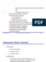 Distirbuted DataBase Semantic