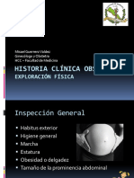 2. Historia Clínica Obstétrica (Exploracion)