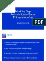 Social Enterprise Sector Prez_ Daniel Bamford