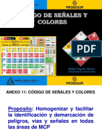 Codigo de Señales y Colores