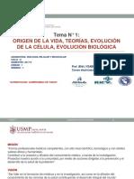 Origen de La Vida, Teorias, Evolucion - 2017ii (1)