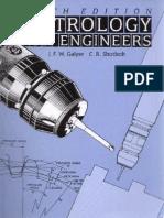 Metrology for Engineers – J.F.W. Galyer