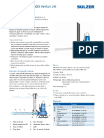 Technical Data Sheet Aerator Type ABS Venturi Jet 60 Hz Metric Brazil