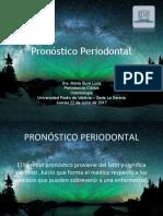 Pronostico Periodontal -Dra BuRe