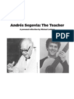 Andres Segovia the Teacher