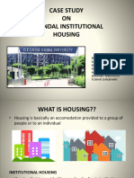 OP JINDAL INSTITUTIONAL HOUSING Case Study
