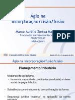 II Seminario Carf 10 d Marco Zortea Agio Na Incorporacao Cisao Fusao