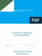 Modernizacion Administrativa Ppt Introduccion Al Modelado de Procesos Bp
