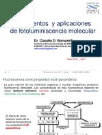 Clase Nº11_FotoLUM-2017_Efecto Del Solvente