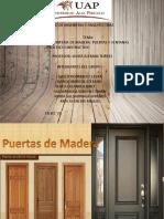 Puertas y Ventanas de Madera Jj