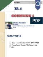 Kombinatorika Counting 1 Zainul Mujtahid 90117003 2